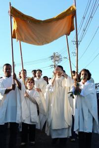 Missa da Alvorada - Páscoa abr/2011