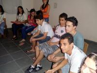 Início Crisma Jovem 2011