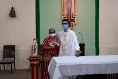 Missa em honra ao Imaculado Coração de Maria