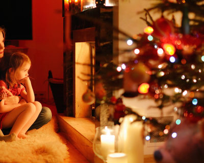 web3-mom-children-kids-mother-christmas-tree-fireplace-family-shutterstock