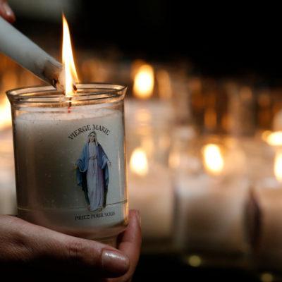 Lumignon Vierge-Marie.